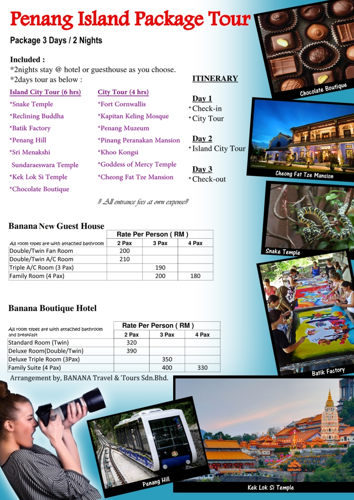 Penang Island Package Tour